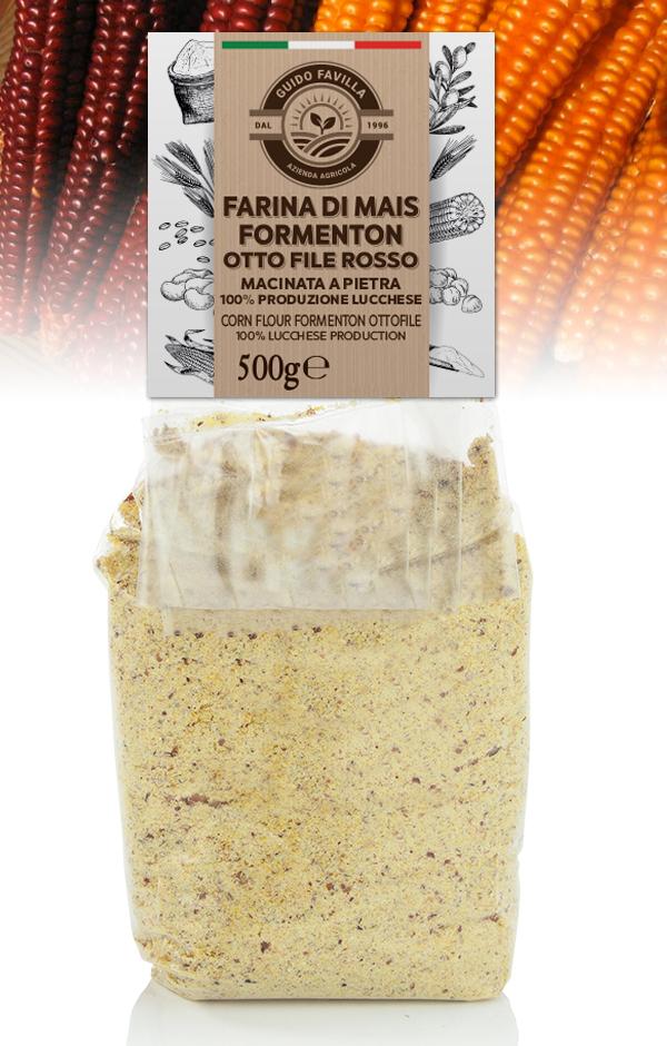 Farina Formenton 8 file macinata a pietra